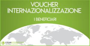 Beneficiari Voucher Internazionalizzazione 2017