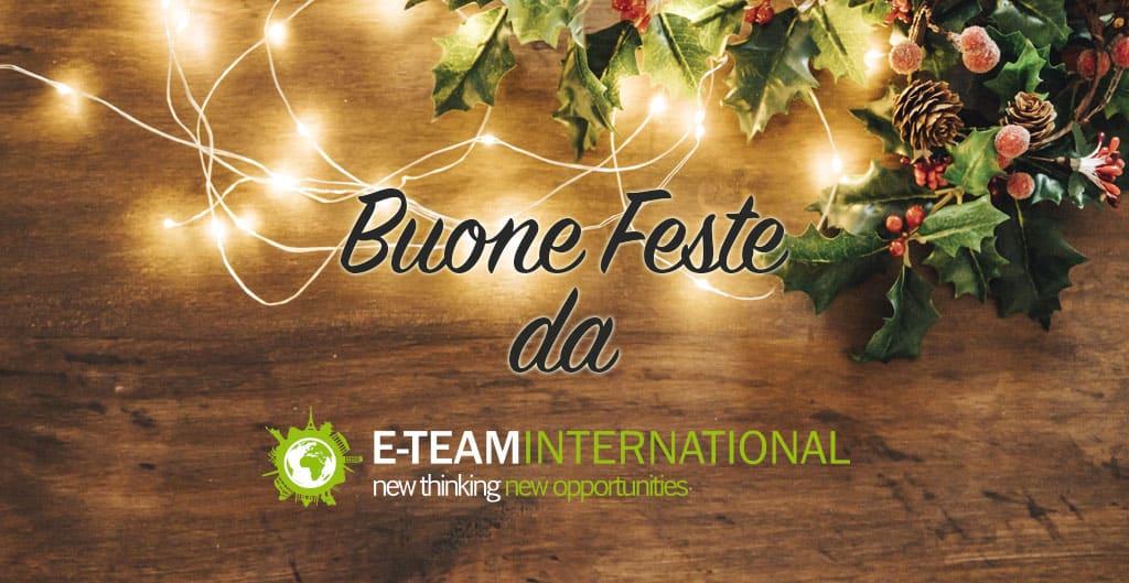Buone feste da E-Team International