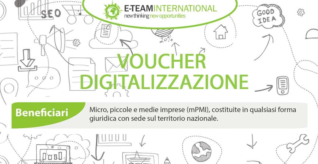 Voucher Digitalizzazione: chi sono i beneficiari?