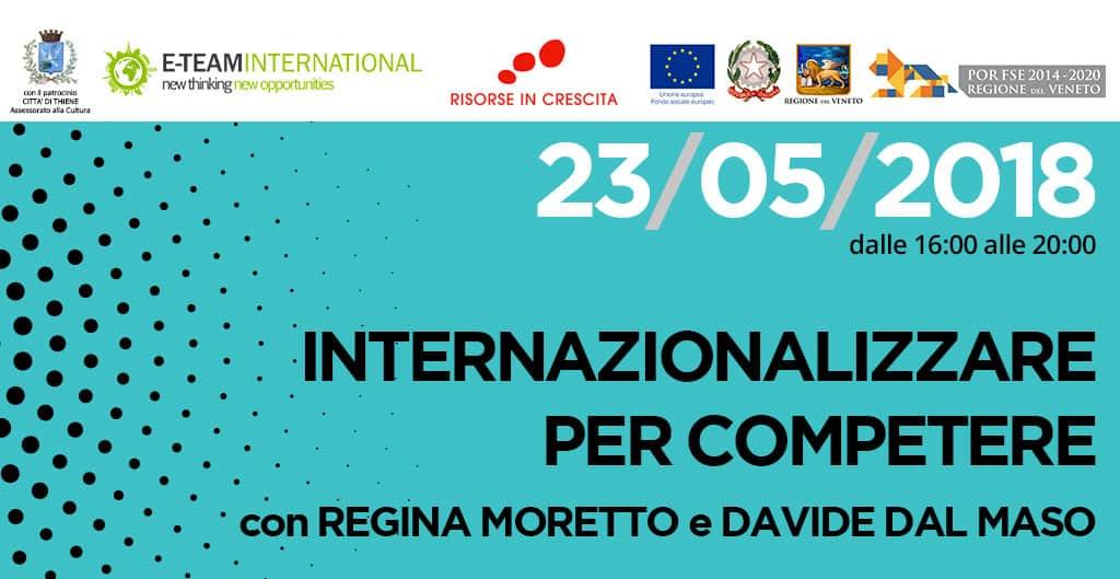 Seminario internazionale: Internazionalizzare per competere