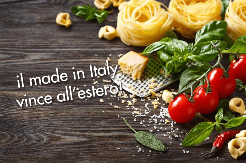 Esportare prodotti gastronomici