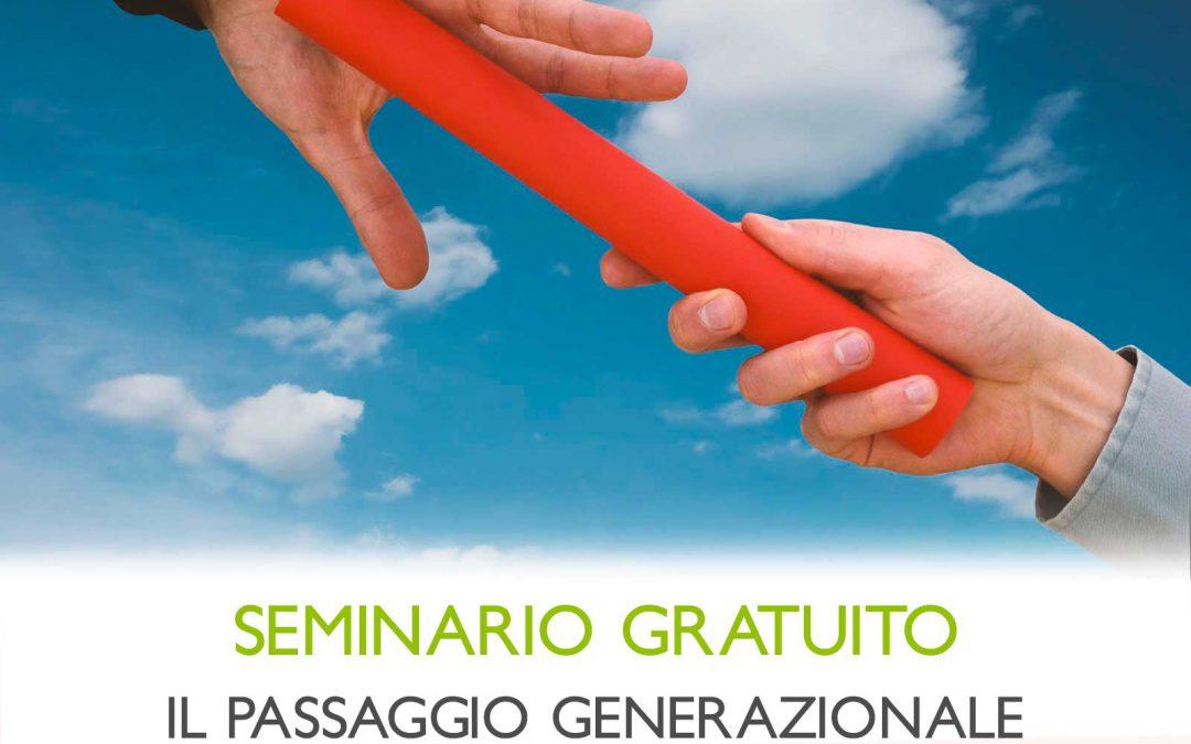 CO.GE.VA CONTINUITÀ GENERAZIONALE DI VALORE – SEMINARIO DI LANCIO PROGETTO