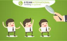 Lavora con noi E-Team International