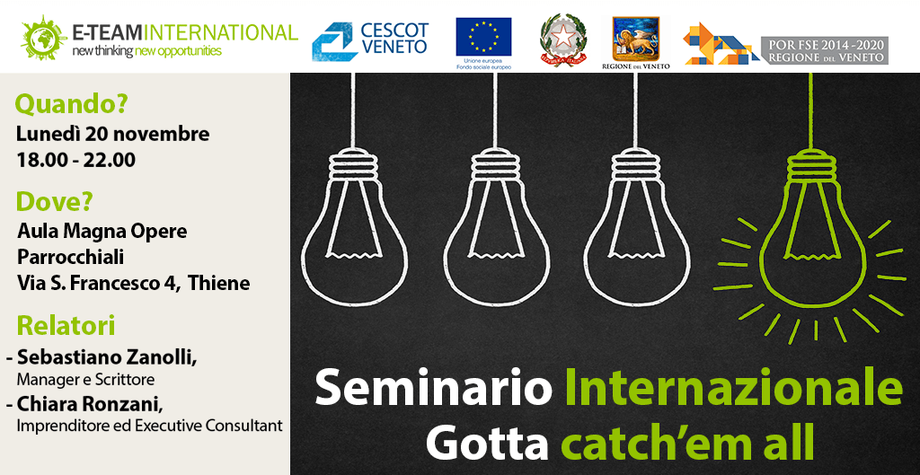 Seminario Internazionale: Gotta catch'em all