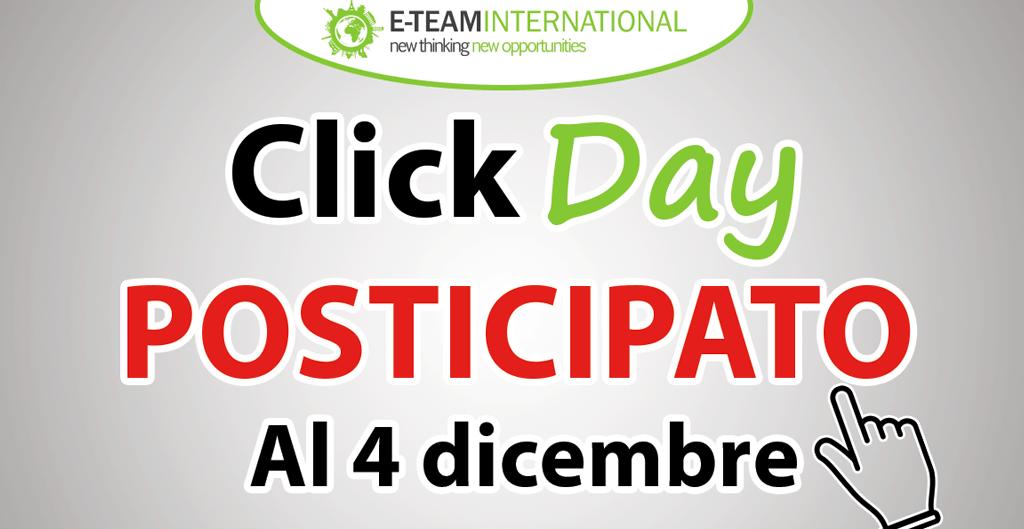 Click Day Voucher Internazionalizzazione Posticipato