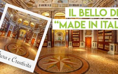 In Italia cultura e creatività alimentano il settore produttivo