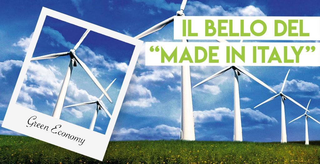 L'Italia è una delle Green Economy più forti dell'Unione Europea.