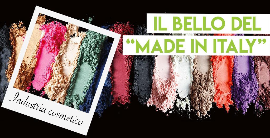 La produzione italiana di make-up si conferma al primo posto nel mondo