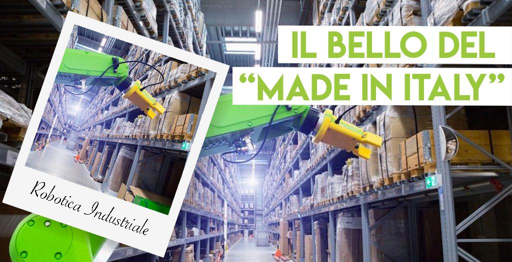 Le imprese italiane sono prime in Europa per robotica industriale